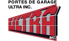 Logo Portes de garage Ultra inc.